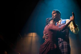 Jennifer Saayeng and Ako Mitchell in Ragtime. Photo: Annabel Vere