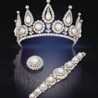 The Victorian Rosebery Pearl and Diamond Tiara