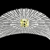 The Exquisite Sun Tiara circa 1907 made by Cartier