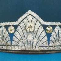 An Exquisite Art deco tiara once owned by Princess Alice, Countess of Athlone