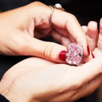 The World's Largest known Fancy Intense Pink Diamond
