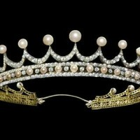 Gorgeous Pearl and Diamond Tiara
