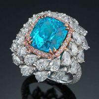 An Amazing and Extraordinary 7.0 carats Brazilian Paraiba Tourmaline