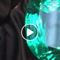 An Exceptional 206.09 Ct Colombian Emerald