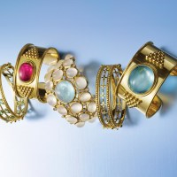 Gorgeous Gemstone Gold Bracelets