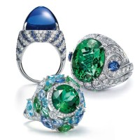 Gorgeous Gemstone and Diamond Rings by Tiffany & Co.
