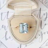 A Gorgeous Aquamarine Ring