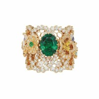 A Gorgeous Emerald and Diamond Ring by Dior