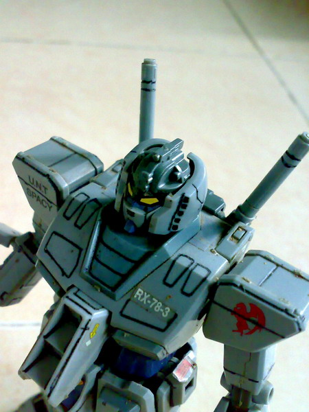MG RX-78-3 G-3 Gundam (6/6)