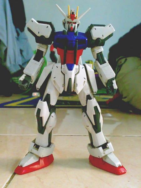 Non Grade 1/100 scale Aile Strike Gundam (4/6)