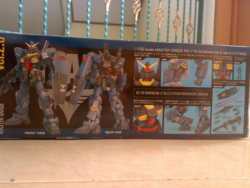 MG RX-178 Gundam Mk-II Ver.2.0 TITANS colors (2/6)
