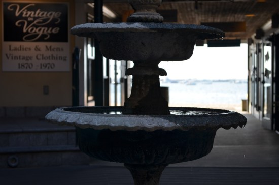 whalers wharf fountain