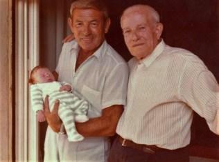 Isacco con il padre Leone e il figlio Ruben