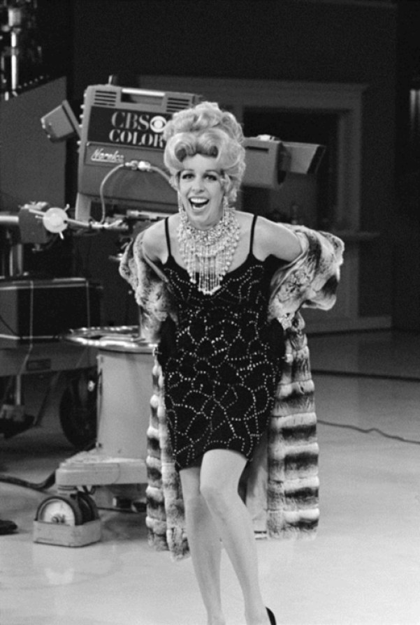 Carol Burnett on THE CAROL BURNETT SHOW. September 16, 1967. Copyright ©1967 CBS Broadcasting Inc. All Rights Reserved. Credit: CBS Photo Archive.