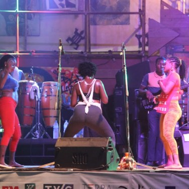 Dancing at the Afrika shrine