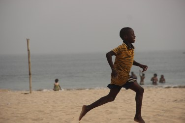 Running - Eyes of a Lagos Boy