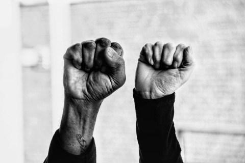 The Fists - Photo By Bolaji Alonge