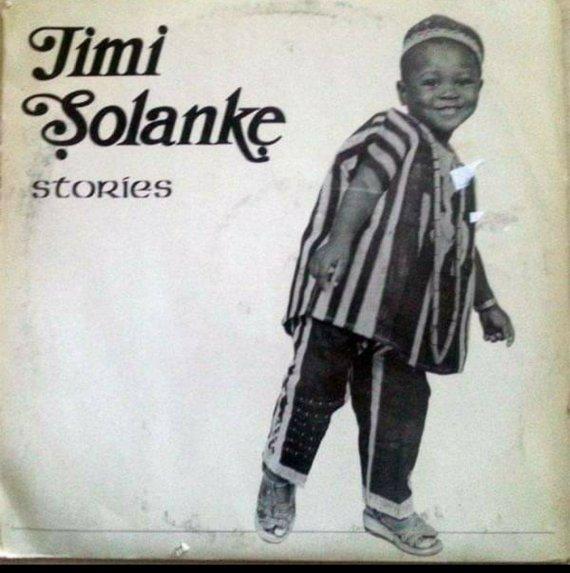 Seun Solanke on the album cover