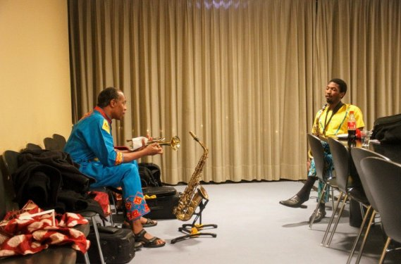 Femi Kuti and Son, Made - Berlin, Photo by Eyes of a Lagos Boy