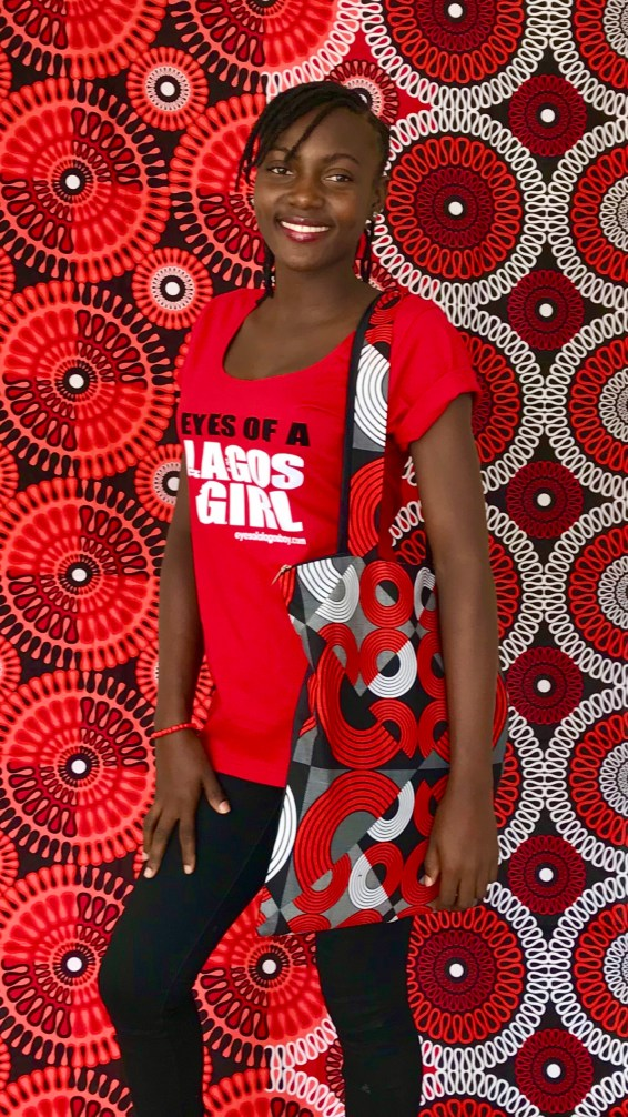 Tote Bag Eyes of a Lagos Girl