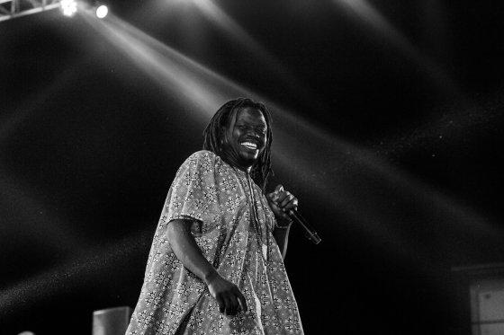 Edaoto on stage - Photo by Kunle John