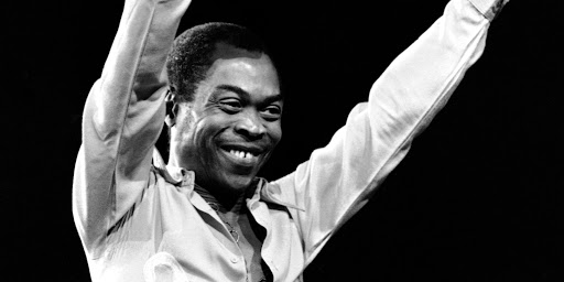 Fela Kuti - Photo by AP