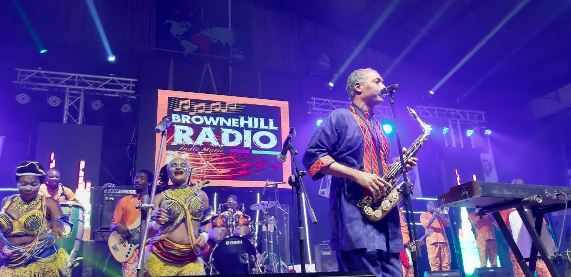 Femi Kuti and the Positive Force - Felabration 2020 - Photo by Eyes of a Lagos Boy