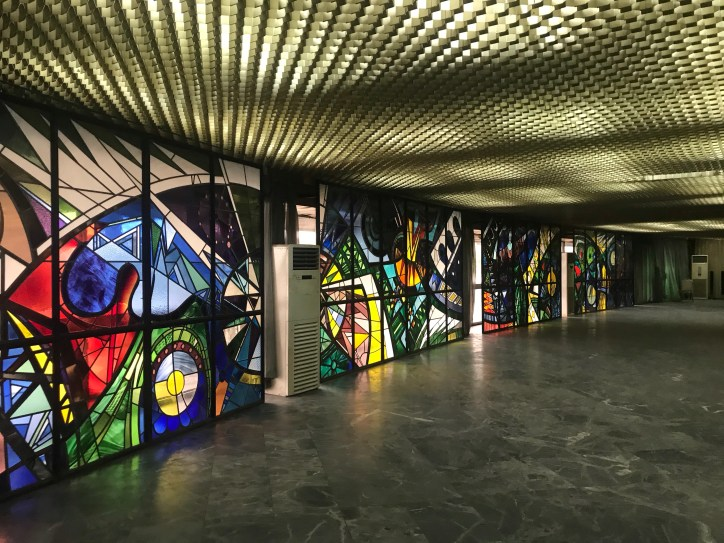 Stained Glass by Yusuf Grillo - Photo By Eyes of a Lagos Boy