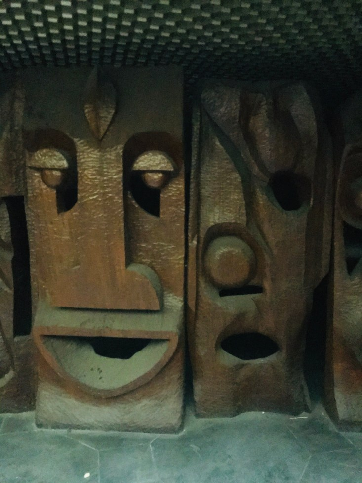 Sculptures still in perfect shape - photos by Eyes of a Lagos Boy
