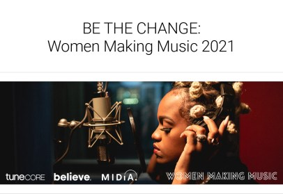 BE THE CHANGE: Women in Music