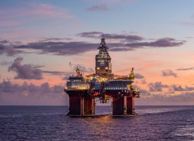 Westwook Oil Rig