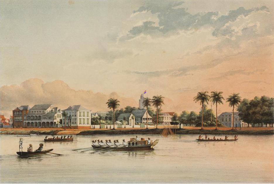 Gouvernementshuis Paramaribo
