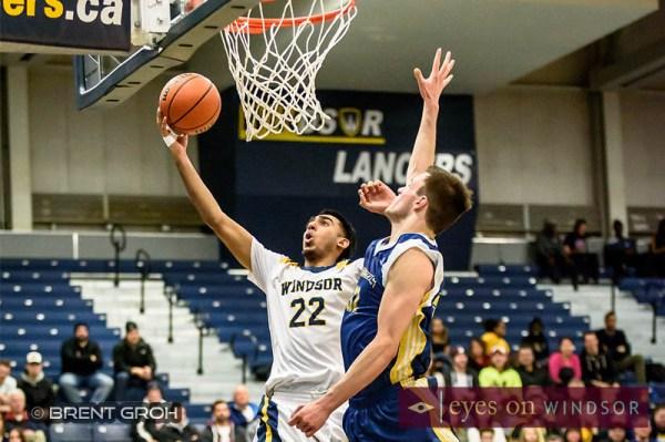 In Photos: Lancers Men's Basketball Make OUA Quarter Finals