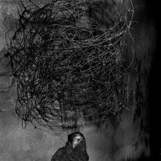 roger-ballen-Twirling wires, 2001