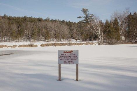 5. Mari Bastashevski Lago privato, Evart, Michigan