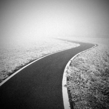 Giovanni Orlando Strada e nebbia