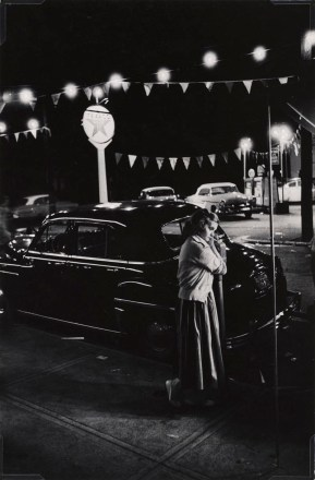 3. Eugene Smith_Girl leaning on a parking meter