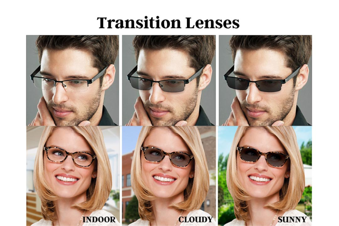 Transition lenses