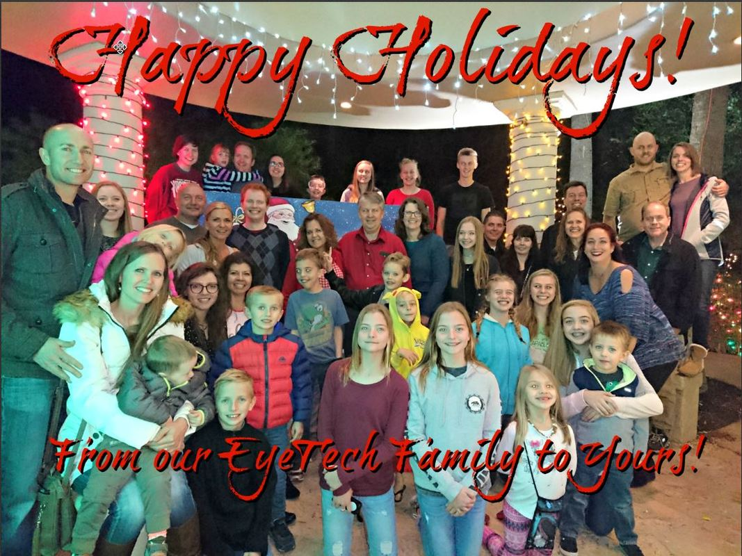 EyeTech Digital Systems - Blog - Happy Holidays From EyeTech - From our EyeTech Family to Yours