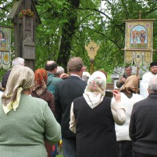 Day of Ascension Mass in Humor Monastery, Bucovina