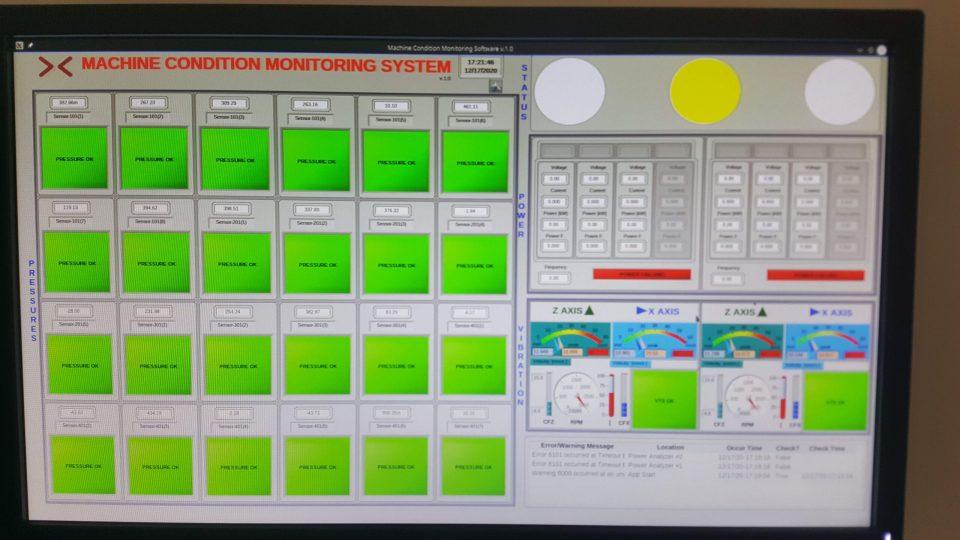 Makine Durum Takip Ekranı