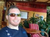 Steve having brunch