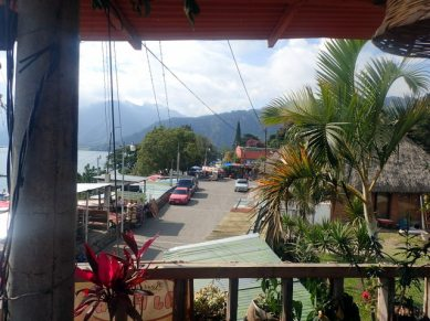 View from lakeside cafe - Pana