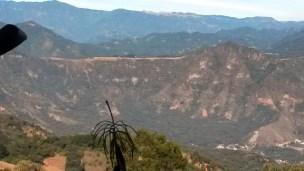 View of ridgeline