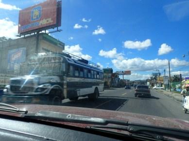 Antigua highway