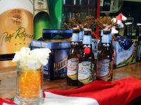 Beer Santa and his sleigh