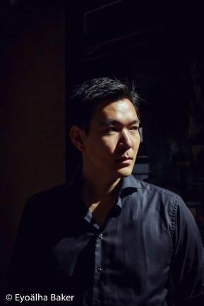 John Wang photographed by Eyoalha Baker