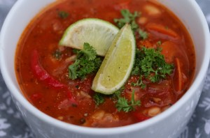 loose weight with fat free soup