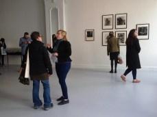 Visitors at Murder Machine opening. Photo: eye.on.art.
