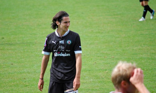 William Kvist tränade med ÖSK i mitten av juli.